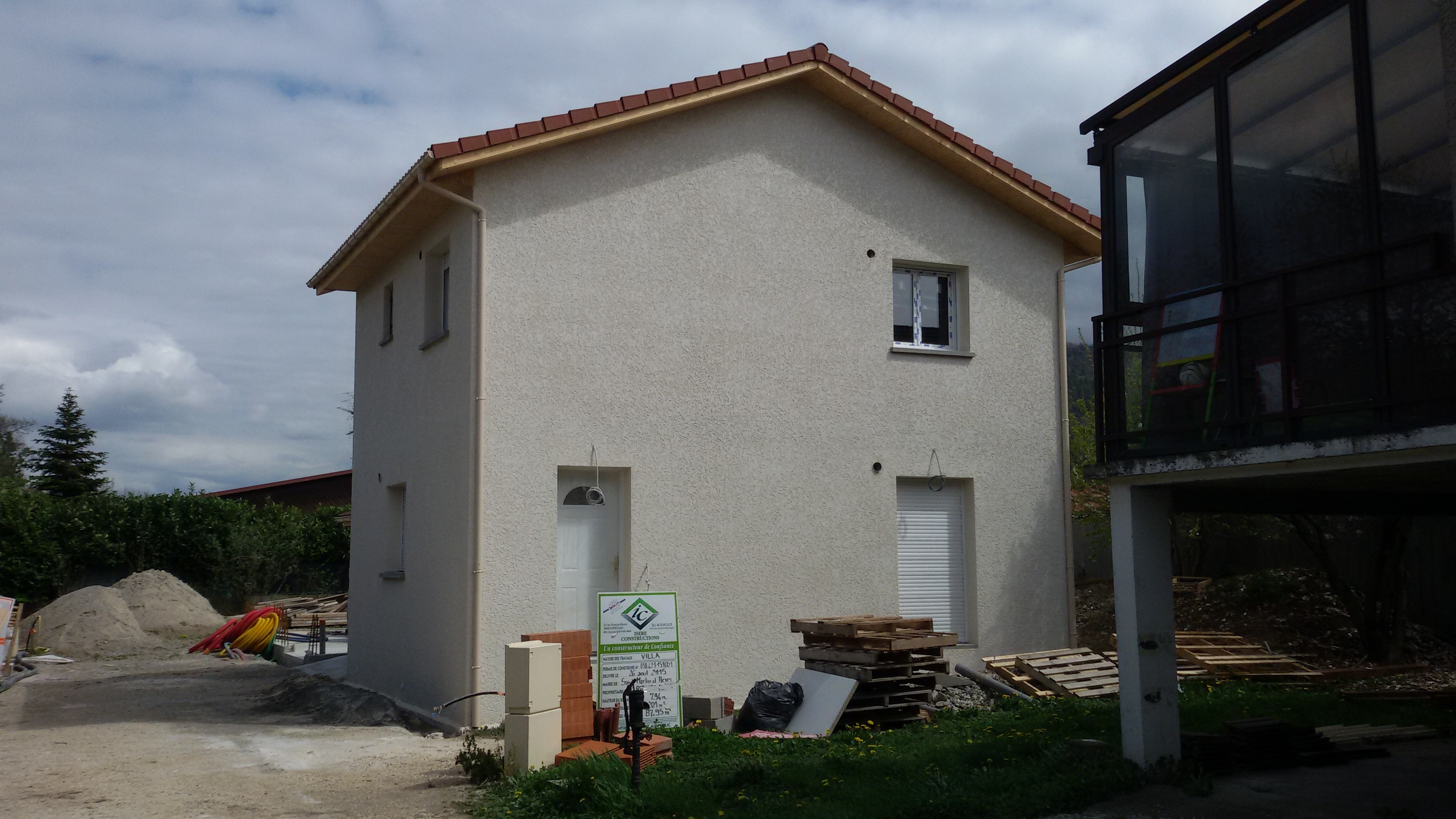 Differentes etapes d 39 une construction a st martin d 39 heres mikit - Garage st martin d heres ...